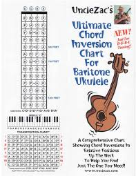 Uncle Zacs Ultimate Chord Inversion Chart For Baritone Ukulele