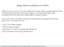 Hedge Fund Accountant Resume Samples Of Accounting Resumes Fund