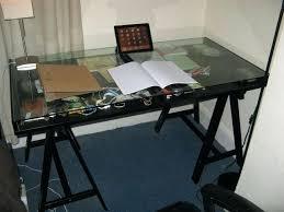 desk glamorous glass desk work tables for white desk glass desk desks glass top ikea
