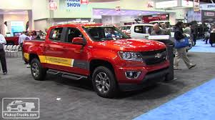 2016 Chevrolet Colorado Diesel Presented at the 2015 Work Truck ...