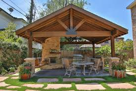 braeswood place outdoor covered patio sunroom and balconyrustic patio houston