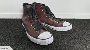 converse chuck taylor uni back zip hi brown leather 150709c mens 10 trade me