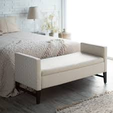 ... Medium Size of Padded Storage Bench End Of Bed Storage Bench Foot Of Bed  Bench Gray