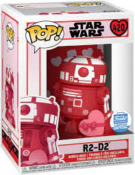 54129 compliment your valentine with a sweet message and the funko exclusive, valentines day edition pop! Funko Pop Star Wars R2 D2 Valentine S Day Funko Shop Exclusive Figure 420