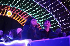Fifth Third Ballpark Lights The Christmas Lite Show Michigans Largest Drive Thru