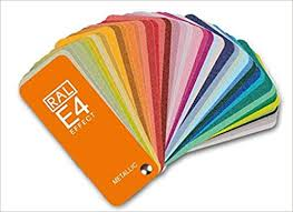 Ral Color Chart Amazon Ral E4 Color Fan Deck With 70 Ral Effect Metalic Colors