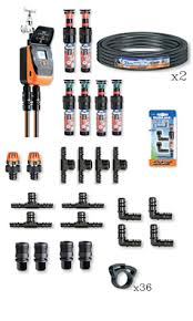 claber 50 130m sq diy lawn watering kit