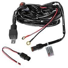 primelux pwh 011601 12ft 16 gauge relay wiring harness for led light now r 585