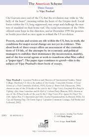 the american scheme three essays by vijay prashad three the american scheme back jpg