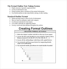 Free 5 Sample Blank Outline Templates In Pdf Doc