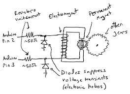 controlling a clock an arduino c i b o m a h t o c o m schematic