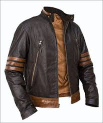details about x men wolverine origins er style brown real leather jacket size s m l xl 2xl