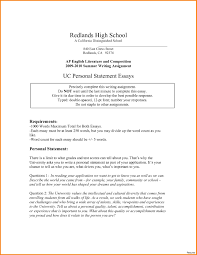 Business Management Personal Statement Example Examples Of