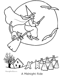Small Picture Scary Halloween coloring pages 001