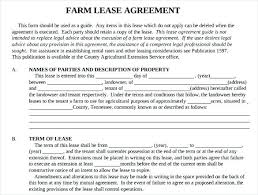 Basic Lease Agreement Example Of Lease Agreement Letter Termination Of Rental