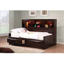 kids full size beds with storage. Beautiful Storage Buy Coaster Phoenix Daybed In Cappuccino Finish At ShopLadder  Great Deals  On Beds With A Superb Selection To Choose From To Kids Full Size With Storage A