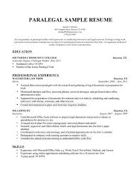 ... Captivating Paralegal Resume Objective 14 Cv Writing For Law ...