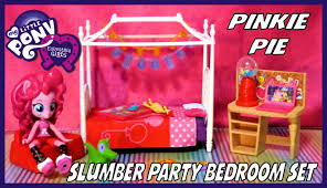 Party Bedroom My Little Pony Equestria Girls Minis Pinkie Pie Slumber Party