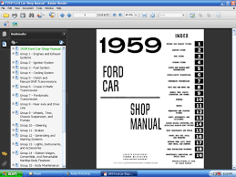 fordmanuals com 1959 ford car shop manual (ebook) Ford Ignition Fuel Wiring Diagram 1959 ford car shop manual (ebook)