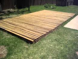 diy backyard basketball court. Beautiful Diy Basketball Court 20u0027 X 13u0027 Made From Treated Reused Wood Decking In Diy Backyard R