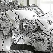 red and white toile bedrooms. black and white toile bedding red bedrooms