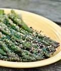 asparagus salad with lemon soy vinaigrette