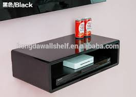 Floating Shelves For Dvd Player Etc Inspiration Storage For Dvd Player And Sky Box Listitdallas