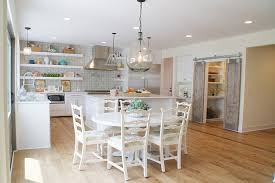 create a unique kitchen with barn doors for the pantry design green apple design
