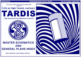 Tardis Design Plans Tardis Master Schematics And General Plans Index Cover Page
