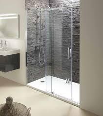 anodised aluminium kohler shower enclosure contra