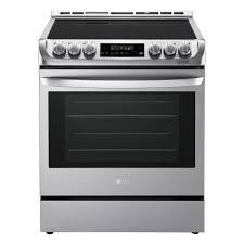 Electric Kitchen Appliances List Lg Electronics Ranges Cooking Appliances The Home Depot
