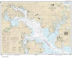 12281 Baltimore Harbor Nautical Chart