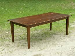Tapered Coffee Table Legs Reclaimed Wood Table Part 1 3 Tapered Legs Youtube
