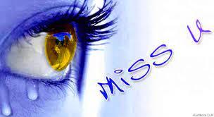i miss you sad eye tear hindibate