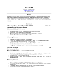 Canadian Sample Resume 20 Cv Resume Canada In Resumes Canadian
