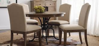 the nook solid oak round dining table small