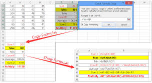 creating formulas in excel how to quickly apply formula to an entire column or row with