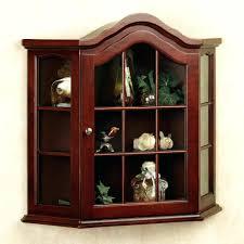 corner curio cabinet for lighted oak shelves corner curio flemingn sre small white cabinet