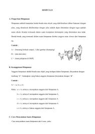 Contoh Diagram Venn Komplemen Pertemuan 2 Teori Himpunan
