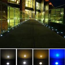 fvtled 12v led deck lighting kit stainless steel waterproof outdoor landscape garden yard step lamp in
