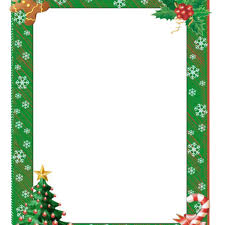 Christmas Borders Word Free Clipart Download