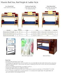 standard bed sizes chart. Bunk Beds: Standard Bed Size Dimensions View Sizes Heights Chart Beds 4 Uk: