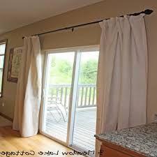 ... Imposing Decoration One Way Curtains Clever Design Ideas Patio Doors  Sliding Door Double Curtain Rod Home ...