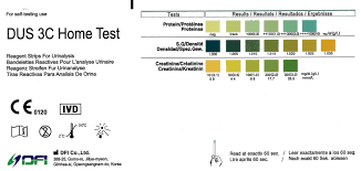 Kidney Failure Urine Color Chart Home Kidney Function Tests Renal Disease Urine Test Strip 2 Tests Home Health Uk