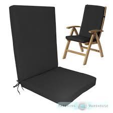 garden chair cushions fancy outdoor high back chair cushions highback garden dining chair cushion pad szslcmo