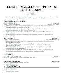 Resume Specialists Therapeutic Recreation Specialist Sample Resume Podarki Co