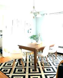 rugs for round dining tables area rug under kitchen table size carpet d