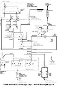 coll circuit wiring diagram on illustrates the 1994 honda accord fog lamps circuit wiring diagram