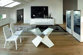 sapphire dining table by rossetto
