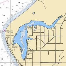 Lake Mi Depth Chart Hamlin Lake Fishing Map Us_mi_53_155 Nautical Charts App